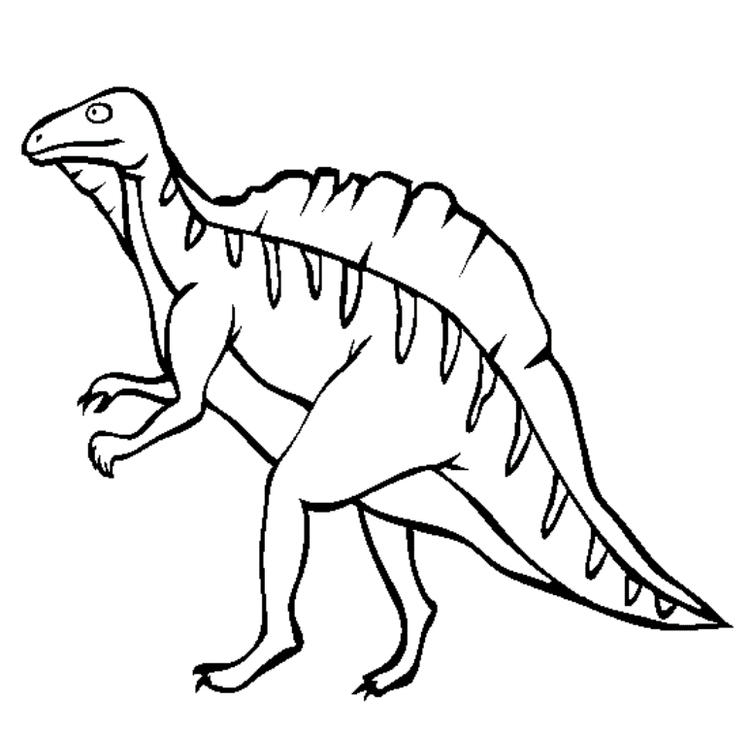 Ouranosaurus Dinosaur Coloring Pages