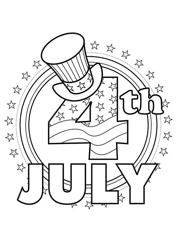 Patriotic Coloring Pages 4th Of July