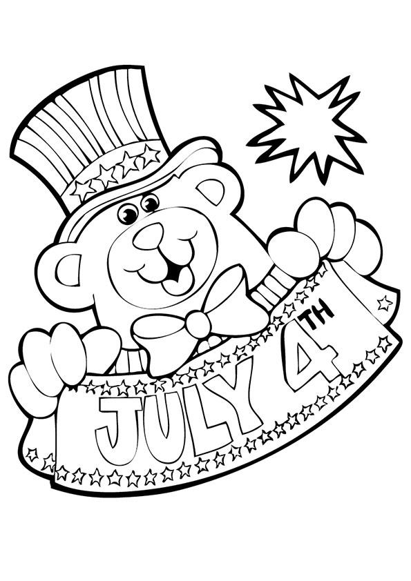 Patriotic Coloring Pages For Kids