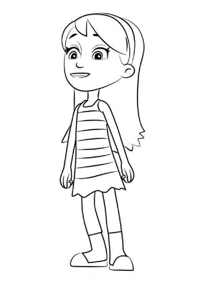 Paw Patrol Coloring Pages Katie