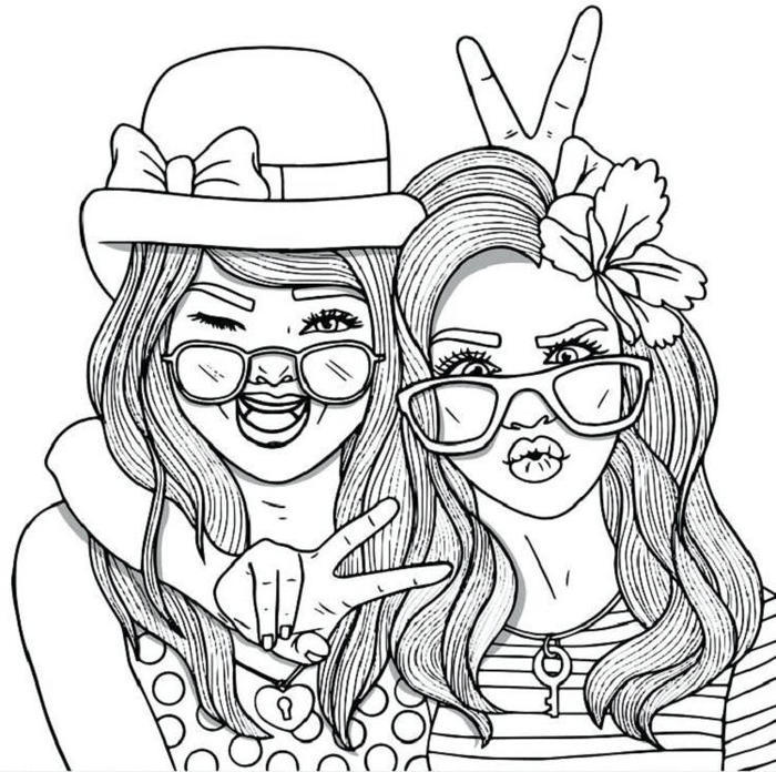People Coloring Pages Free Printable
