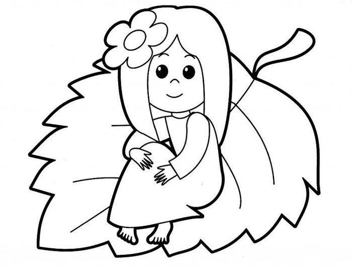 People Coloring Pages Kids