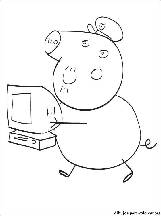 Peppa Pig And Friends Coloring Pages For Print