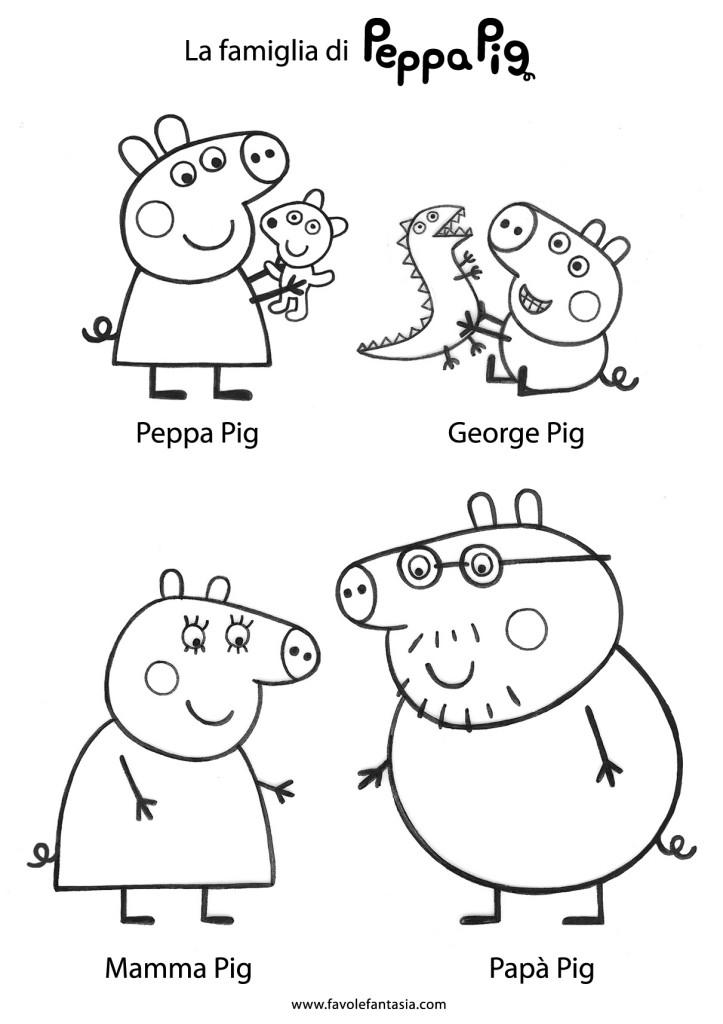 Peppa Pig George Coloring Pages To Print