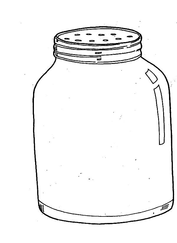 Pepper Jar Coloring Pages
