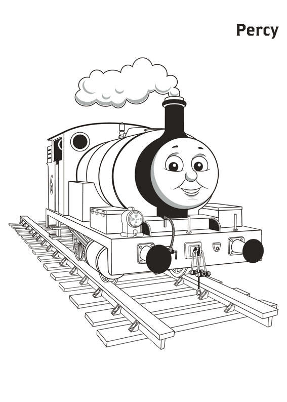 Percy Thomas And Friends Coloring Pages