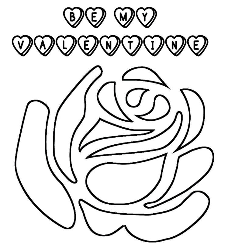 Perfect Valentines Coloring Pages