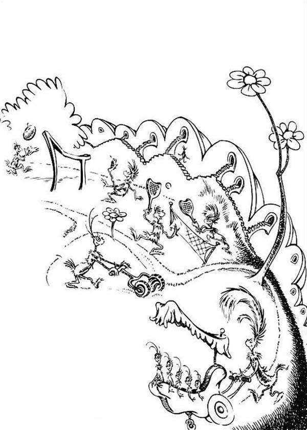 Picture Of Horton Hears A Who Coloring Pages