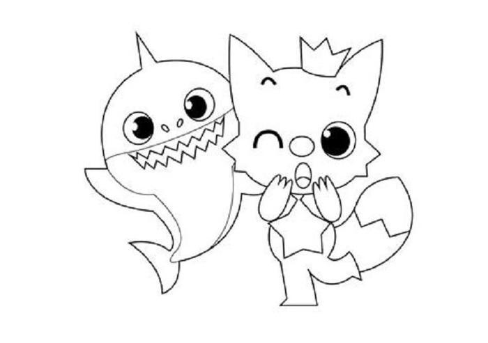 Pinkfong Coloring Pages