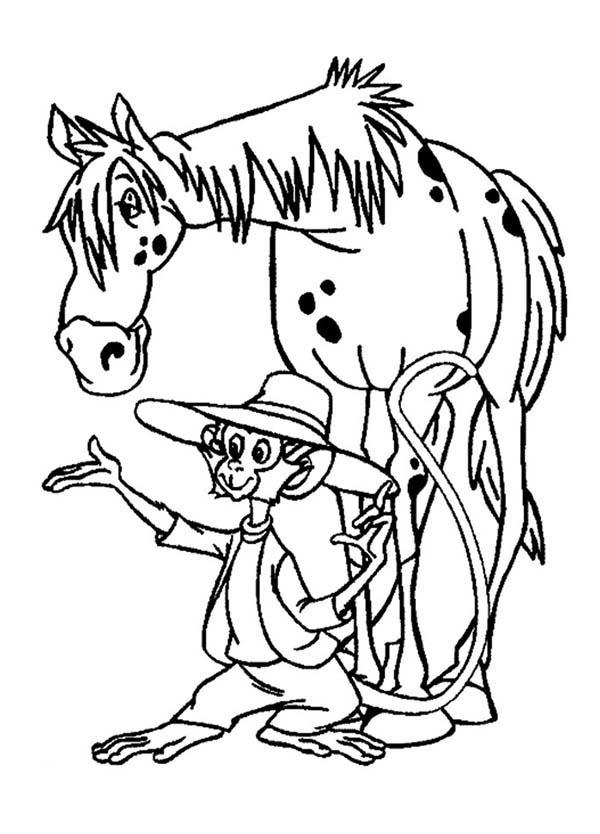 Pippi Longstocking Pet Coloring Pages