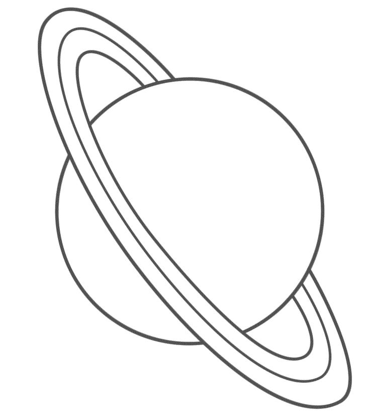 Planet Coloring Pages For Preschooler
