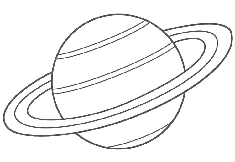 Planet Coloring Pages Saturn