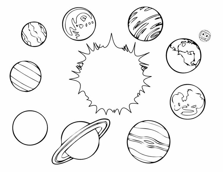 Planets Coloring Pages Solar System Coloring Sheets