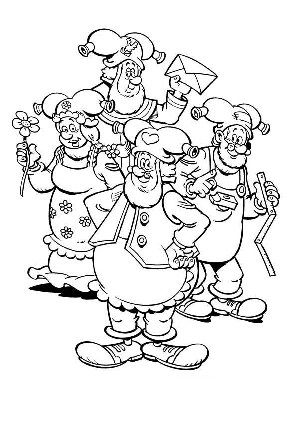 Plop The Gnome And Friends Coloring Pages