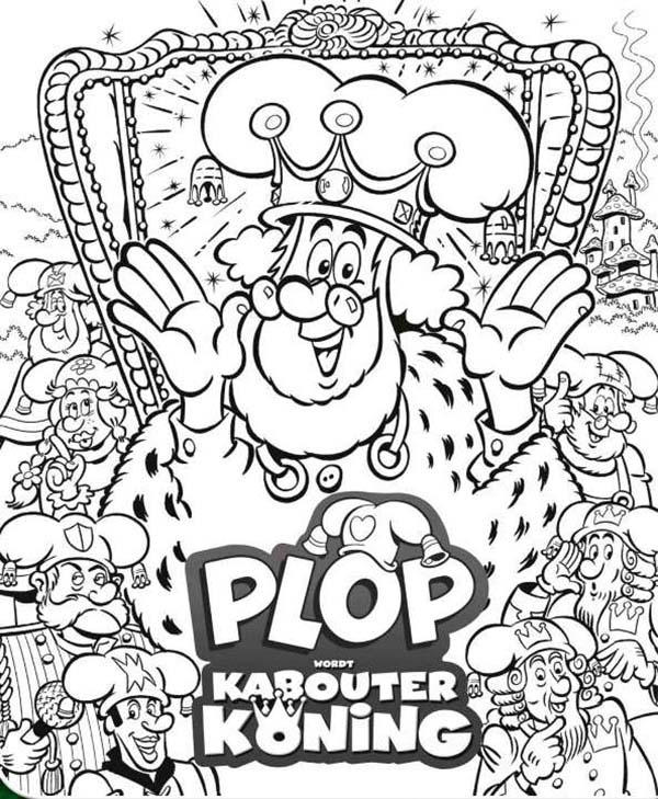 Plop The Gnome The Series Coloring Pages