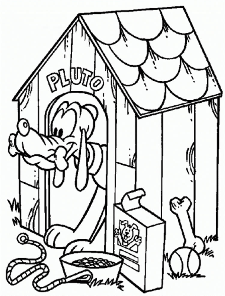 Pluto Coloring Pages Printable