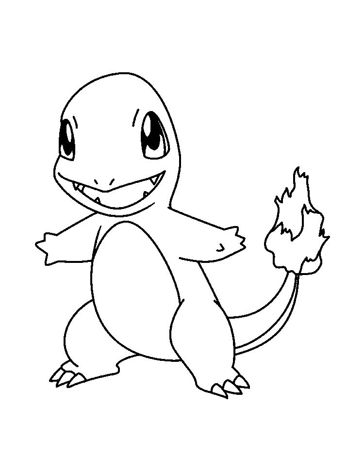 Pokemon Charizard Coloring Pages