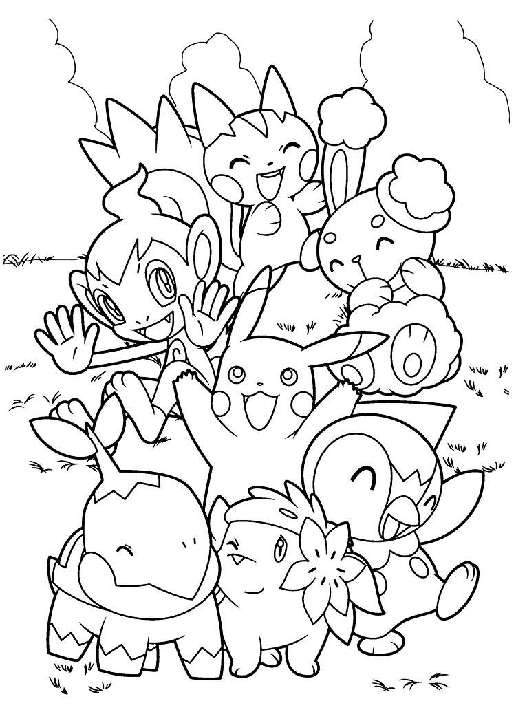 Pokemon Coloring Pages All Pokemon