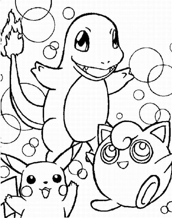 Pokemon Coloring Pages For Kid