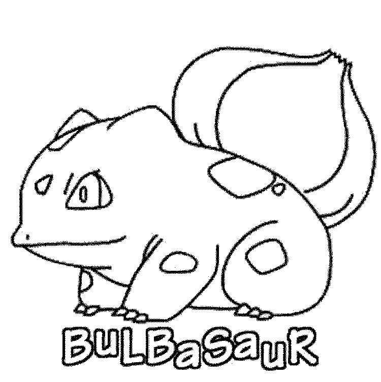 Pokemon Coloring Pages Printable Bulbasaur