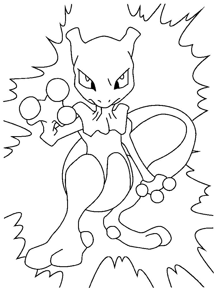 Pokemon Coloring Pages Style 1