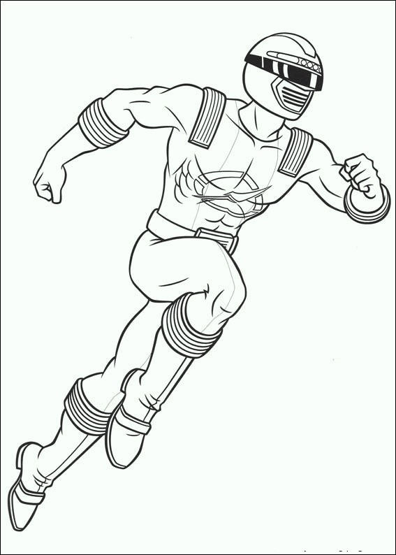 Power Rangers 2017 Coloring Pages 06
