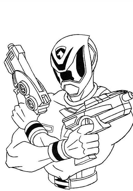 Power Rangers Coloring Pages Kids Printable