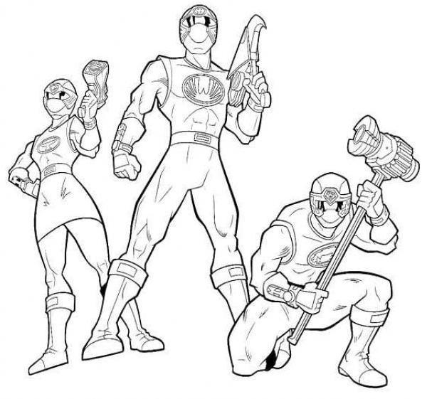 Power rangers ninja storm coloring pages free