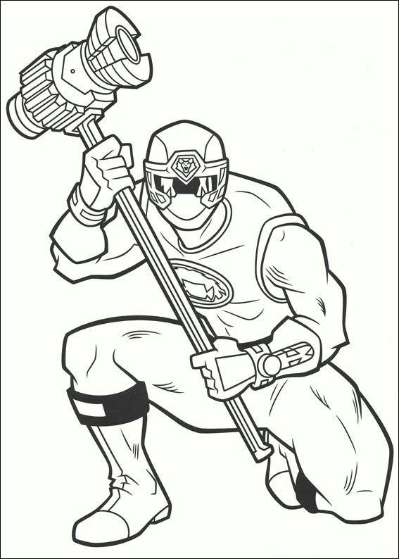 Power Rangers2017 Coloring Pages 06