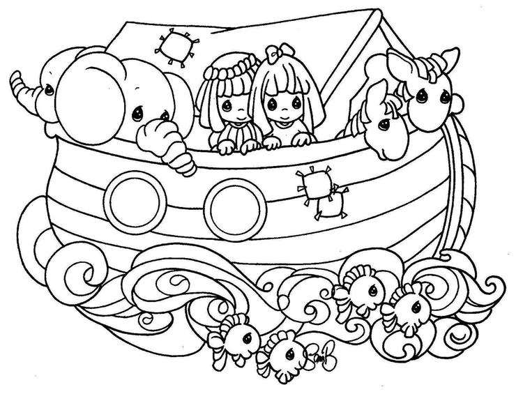 Precious Moments Coloring Pages Bible