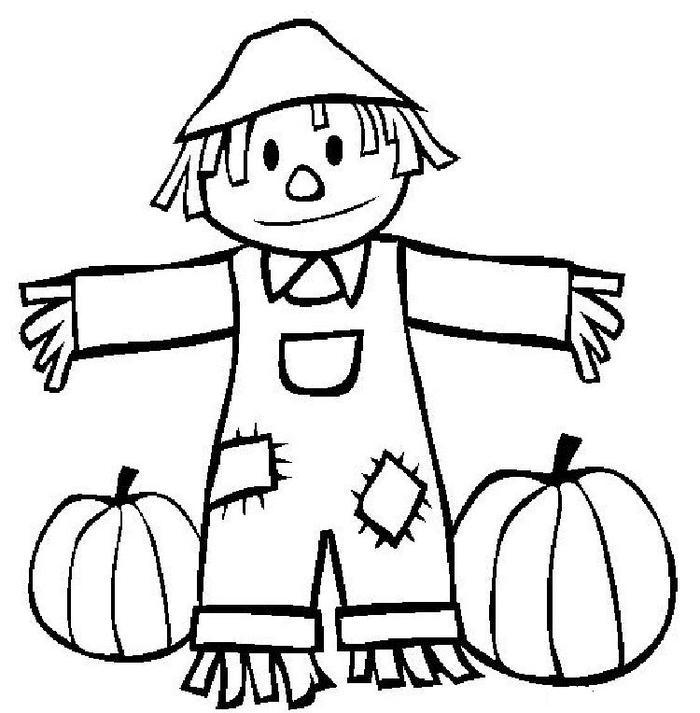 Preschool Coloring Pages Fall