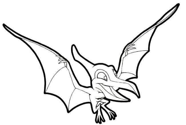 Preschool Coloring Pages Printable Dinosaurs