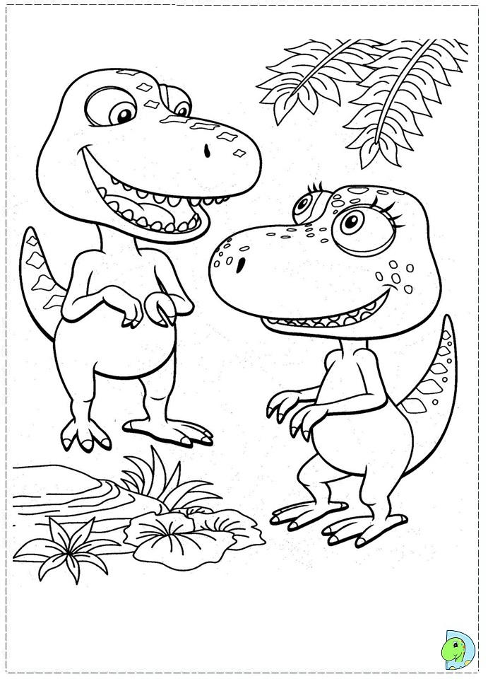 Preschool Dinosaur Train Coloring Pages