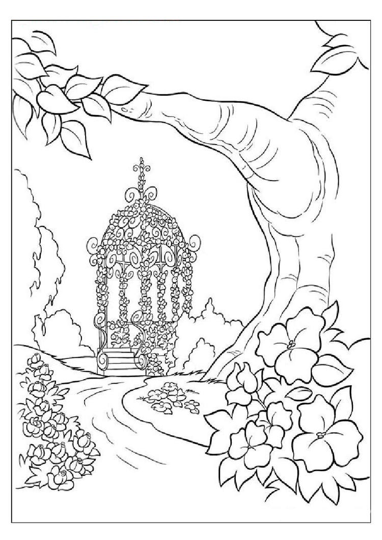 Pretty Coloring Pages For Girls