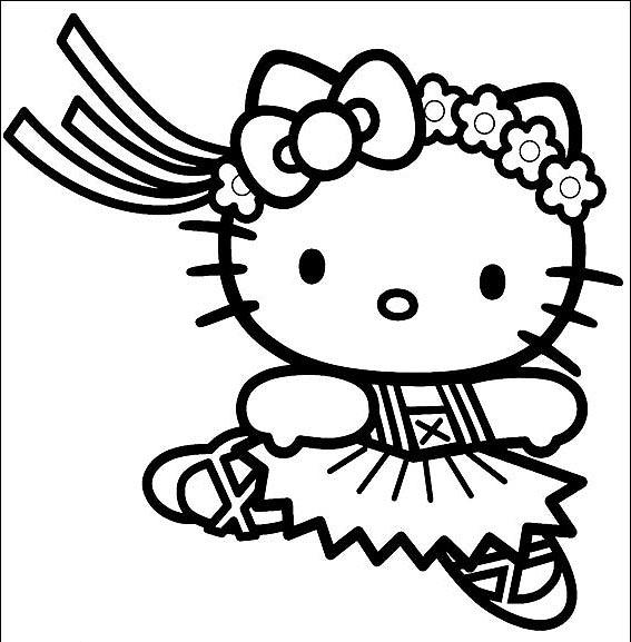 Pretty Coloring Pages For Kids