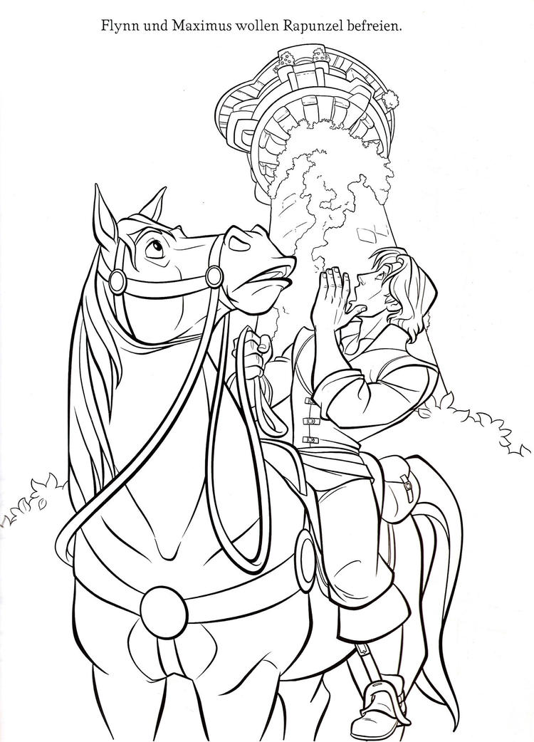 Prince flynn coloring pages