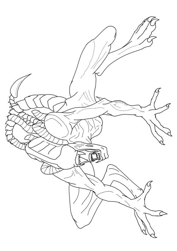 Printable Alien Coloring Pages For Adults