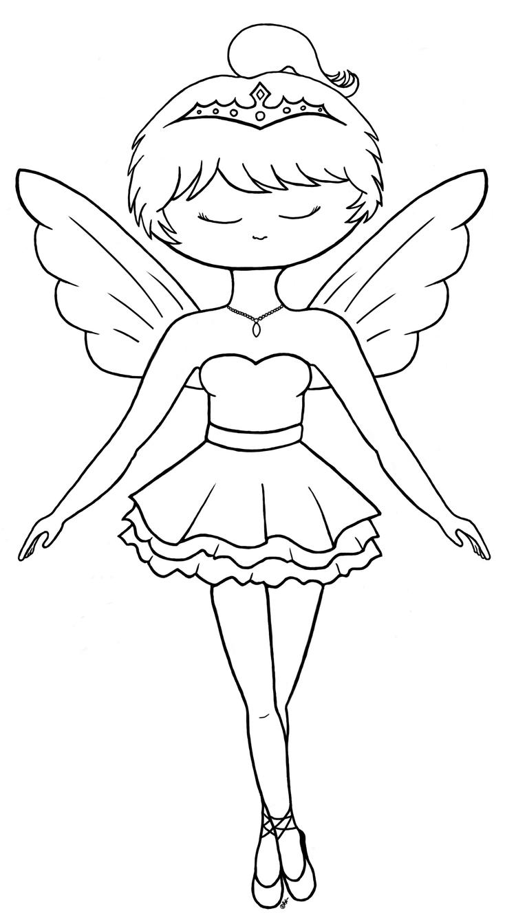 Printable Ballerina Coloring Pages For Kids
