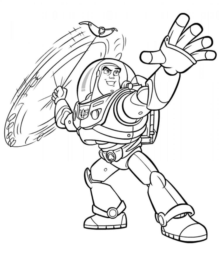 Printable Buzz Lightyear Coloring Pages