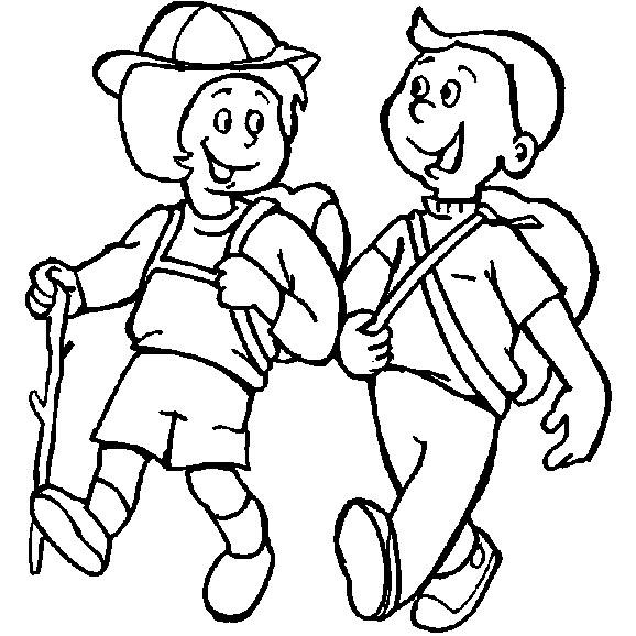 Printable Camping Coloring Pages For Kids