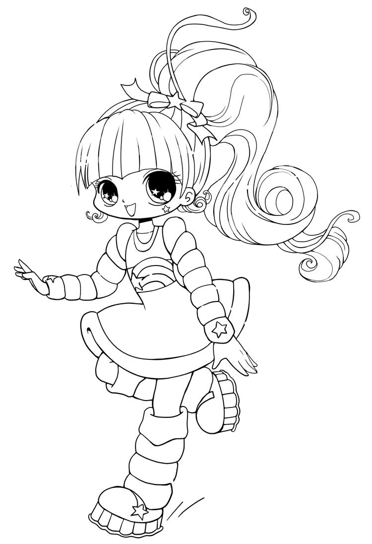 Printable Chibi Coloring Pages