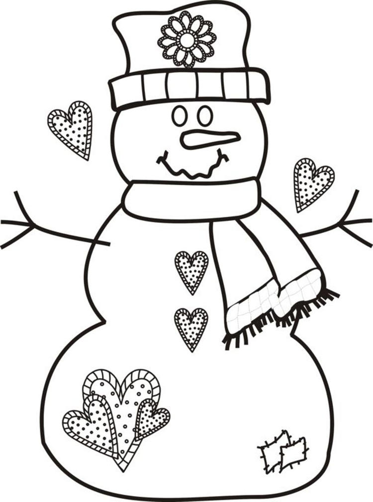Printable Christmas Coloring Pages At Preschool Coloring Book A