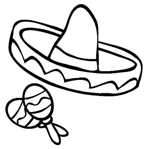 Printable Cinco De Mayo Coloring Pages For Kids