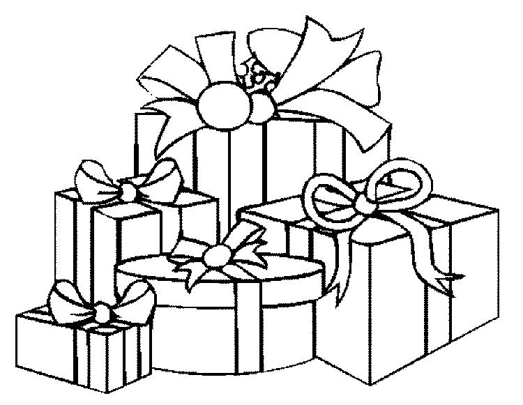 Printable Coloring Pages Christmas Presents Free