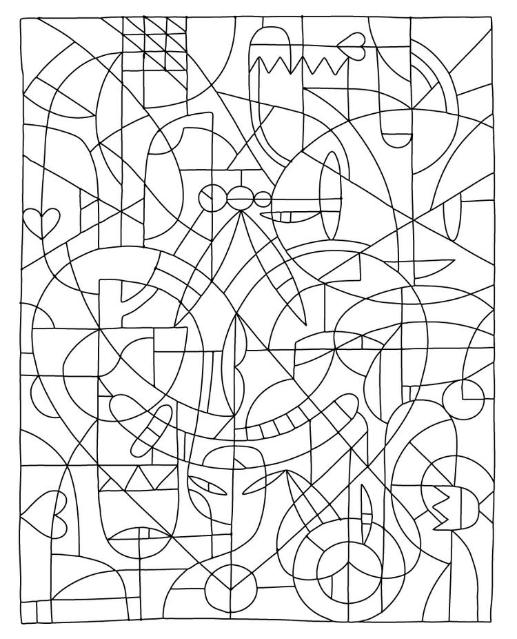 Printable Coloring Pages For Teenagers Difficult Color By Number