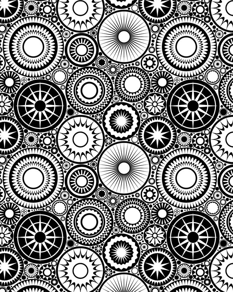 Printable Design Coloring Pages