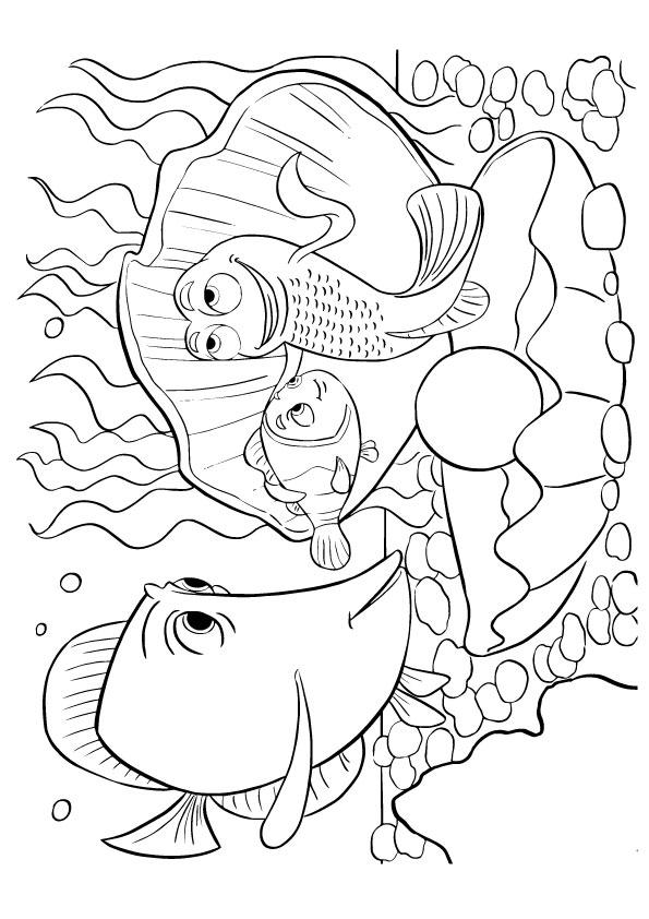Printable Finding Nemo Coloring Pages