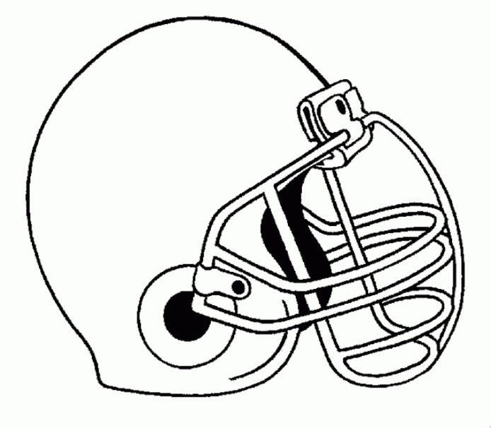 Printable Football Coloring Pages For Kids