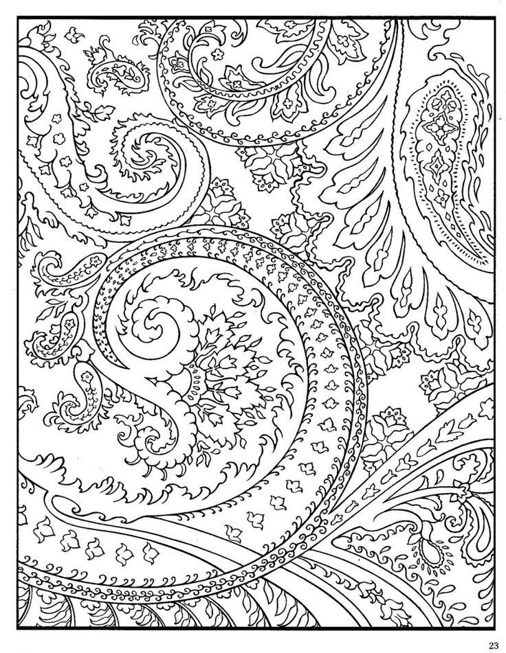 Printable Hard Coloring Pages For Adults