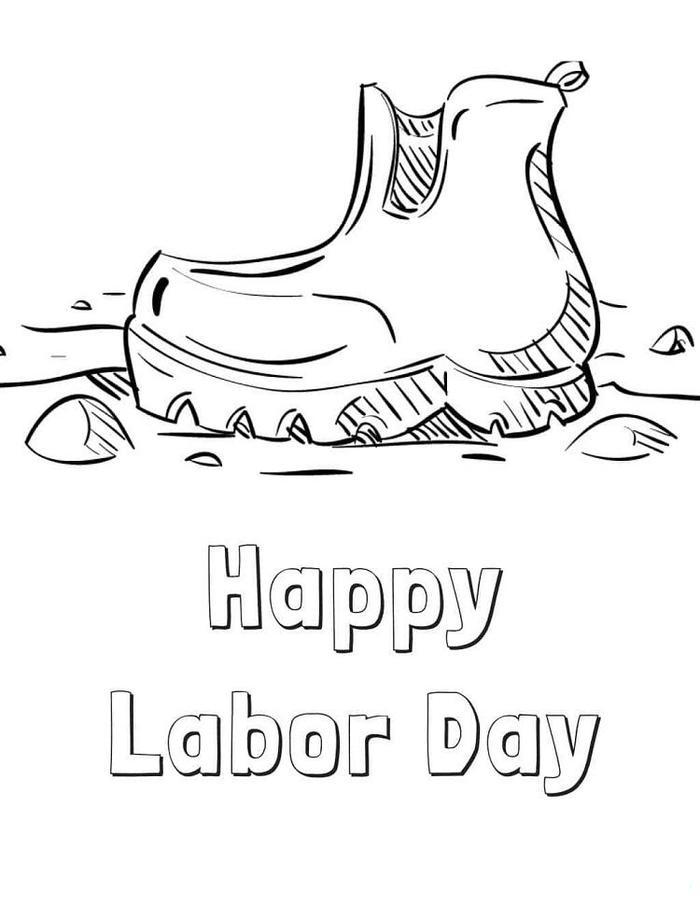 Printable Labor Day Coloring Pages